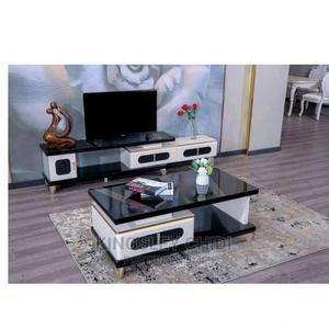 Tempered Glass Center Table and TV STAND | Furniture for sale in Lagos State, Ojo