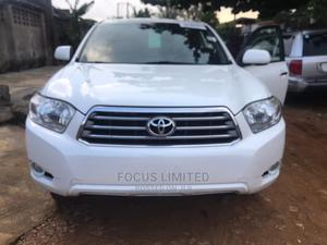 Toyota Highlander 2008 White   Cars for sale in Lagos State, Isolo