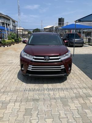 Toyota Highlander 2019 LE Red   Cars for sale in Lagos State, Lekki