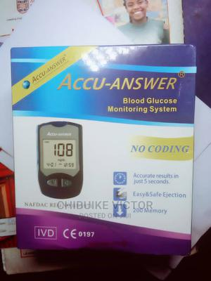 Accu-Answer Glucose Monitor | Medical Supplies & Equipment for sale in Imo State, Owerri