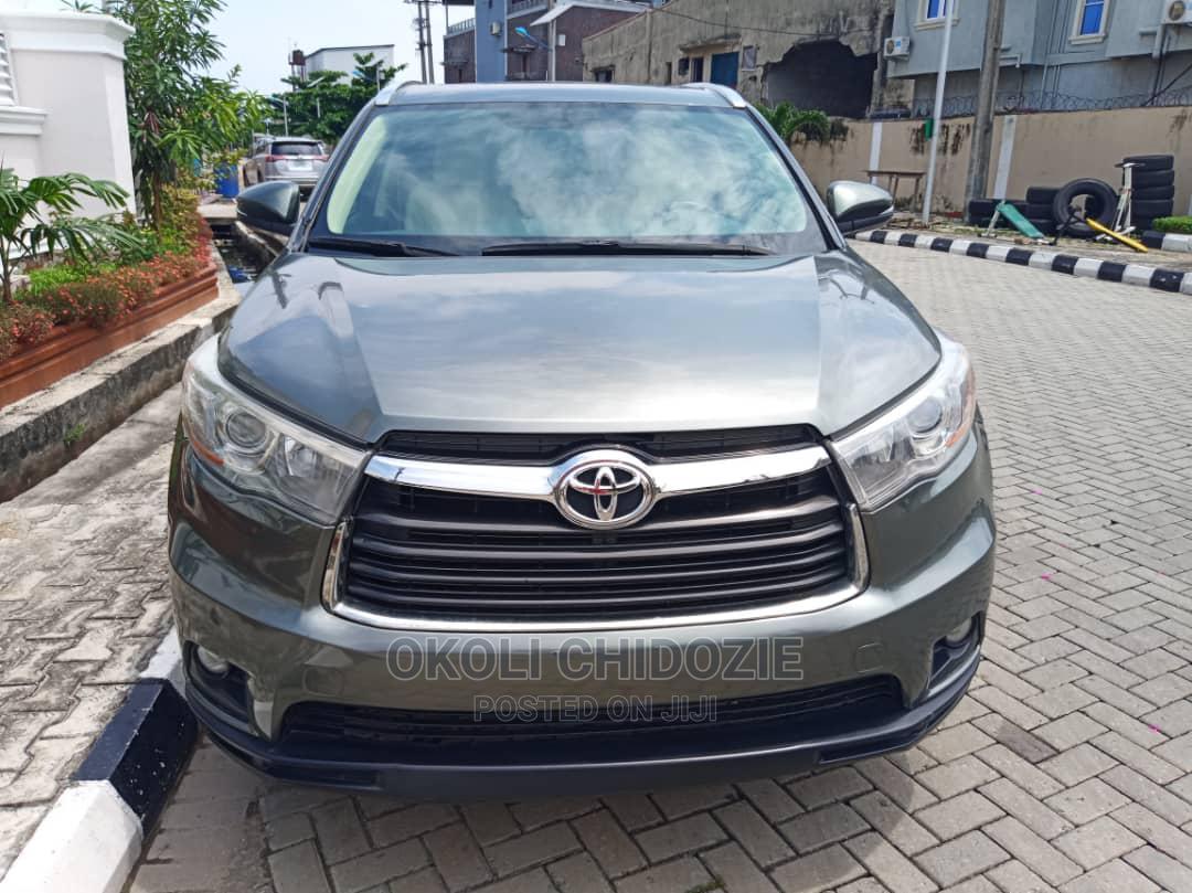 Toyota Highlander 2017 Green
