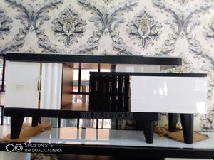 Portable TV Stand Glass Top | Furniture for sale in Rivers State, Port-Harcourt