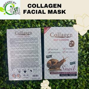 Collagen Snail Facial Mask | Skin Care for sale in Lagos State, Surulere