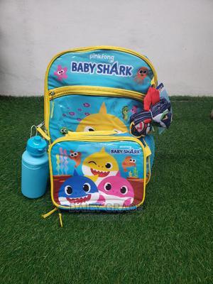 Baby Shark 4 in 1 School Bag Set | Bags for sale in Lagos State, Ikeja