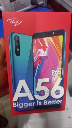 New Itel A56 Pro 32 GB Black | Mobile Phones for sale in Lagos State, Ikeja