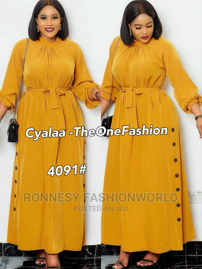 Classic Female Quality Dinner Long Gown | Clothing for sale in Ikeja, Lagos State, Nigeria
