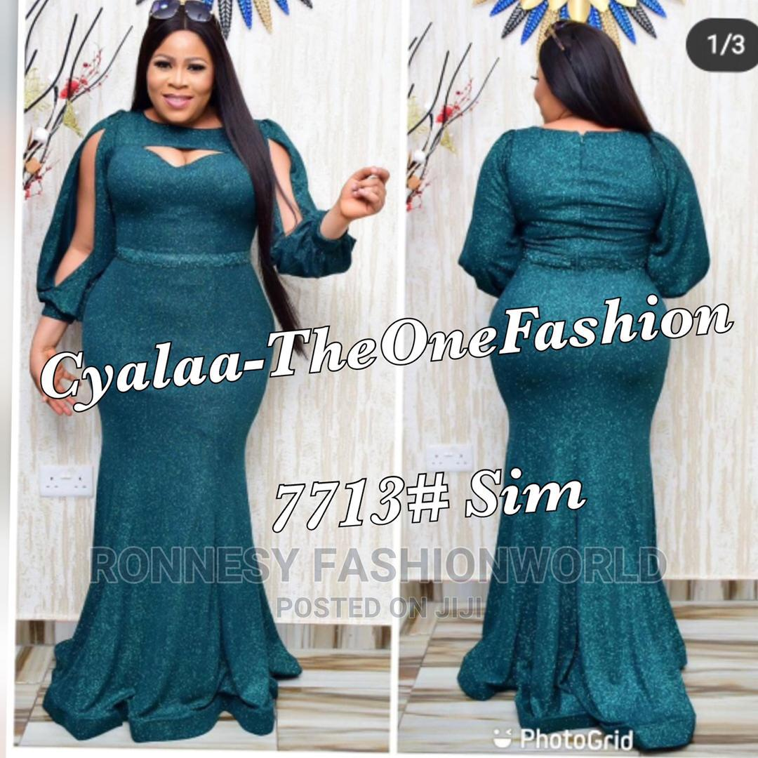 Classic Female Quality Dinner Long Gown