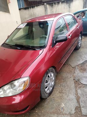Toyota Corolla 2003 Sedan Automatic Red | Cars for sale in Lagos State, Ifako-Ijaiye