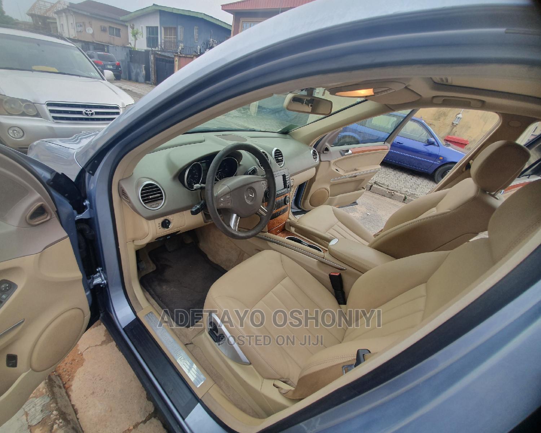 Mercedes-Benz M Class 2007 ML 350 4Matic Blue | Cars for sale in Amuwo-Odofin, Lagos State, Nigeria