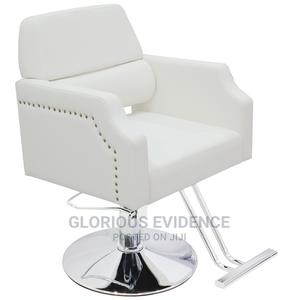 Styling Chair 7166 (White) | Salon Equipment for sale in Lagos State, Surulere