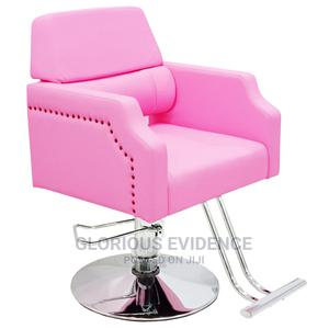 Styling Chair 7166 (Pink) | Salon Equipment for sale in Lagos State, Surulere