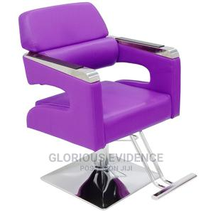 Purple Styling Chair H117 | Salon Equipment for sale in Lagos State, Surulere