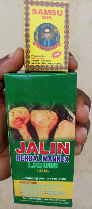 Original Samsu Oil and Jalin Jerbal Mannex Liquid   Sexual Wellness for sale in Oyo State, Ibadan