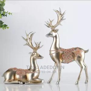 Resin Deer Animal Figurine Statue   Home Accessories for sale in Lagos State, Ikeja