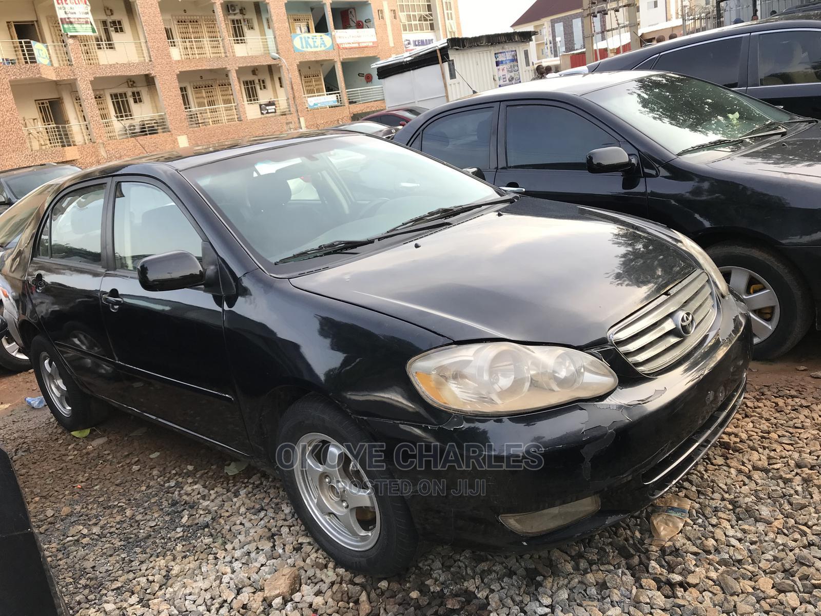 Archive: Toyota Corolla 2004 Black
