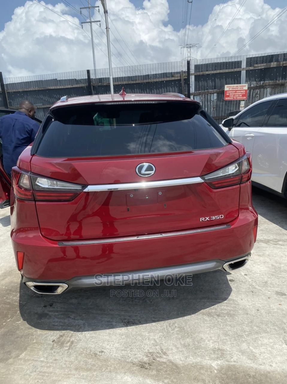 Archive: Lexus RX 2018 350 AWD Red