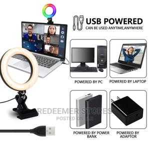8 Inch Selfie Ring Light With Mobile Phone Mount   Accessories for Mobile Phones & Tablets for sale in Lagos State, Ikeja