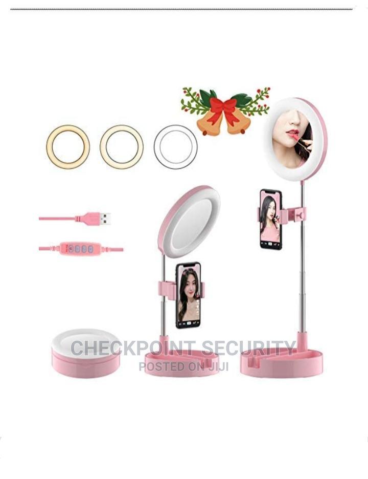Mobile Desktop Extendable Selfie Ring Light
