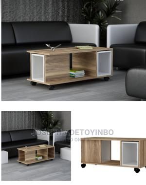 3 in 1 Moveable Center Table With Side Table | Furniture for sale in Lagos State, Amuwo-Odofin