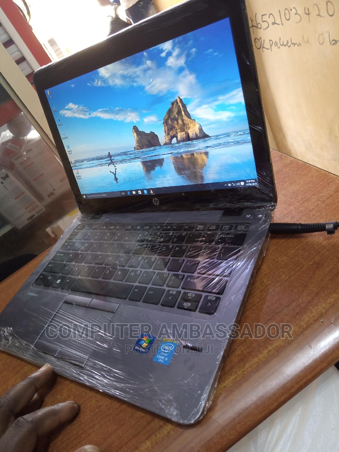 Laptop HP EliteBook 820 G2 4GB Intel Core I5 HDD 500GB   Laptops & Computers for sale in Wuse 2, Abuja (FCT) State, Nigeria