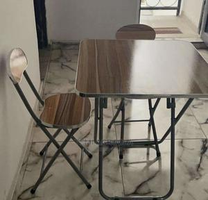 Foldable Table and 1 Chair | Furniture for sale in Lagos State, Ikeja