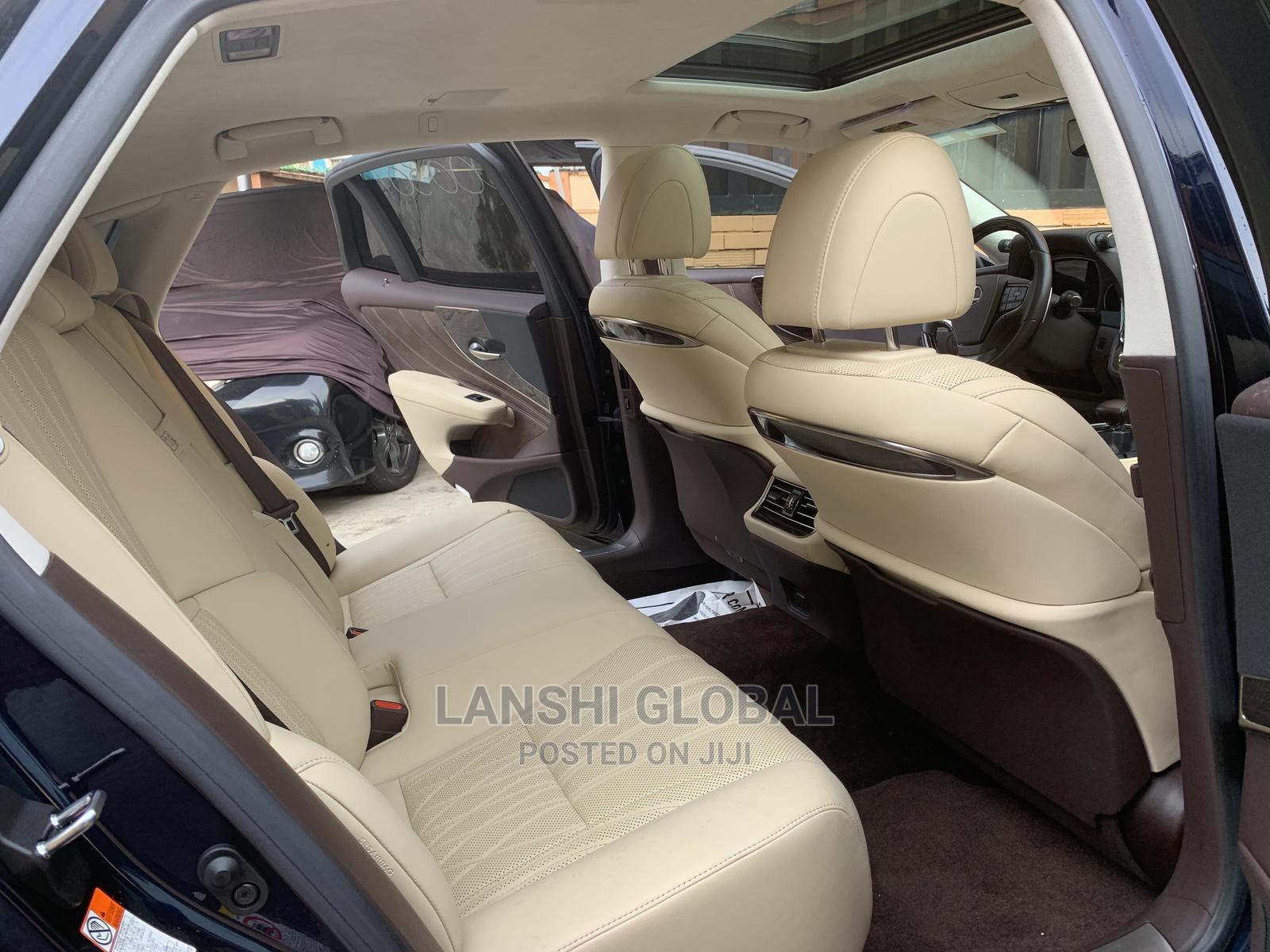 Lexus LS 2018 Blue   Cars for sale in Ikeja, Lagos State, Nigeria
