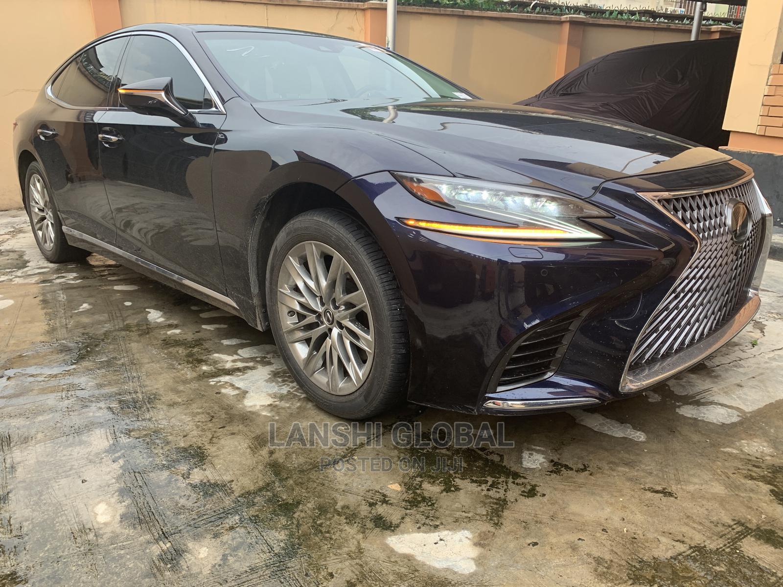 Lexus LS 2018 Blue