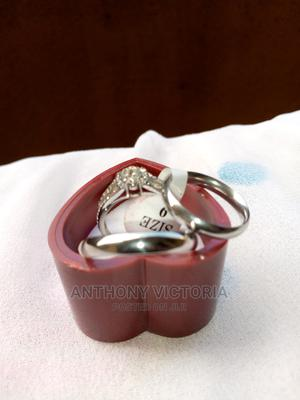 Silver Wedding Rings Couples Set | Wedding Wear & Accessories for sale in Lagos State, Ojo