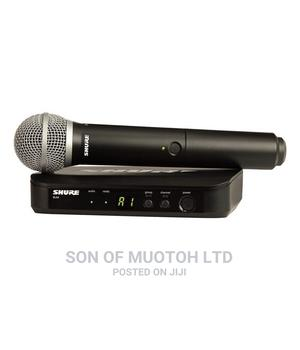 Shure BLX24/PG58 Wireless Vocal System With PG58   Audio & Music Equipment for sale in Lagos State, Ojo
