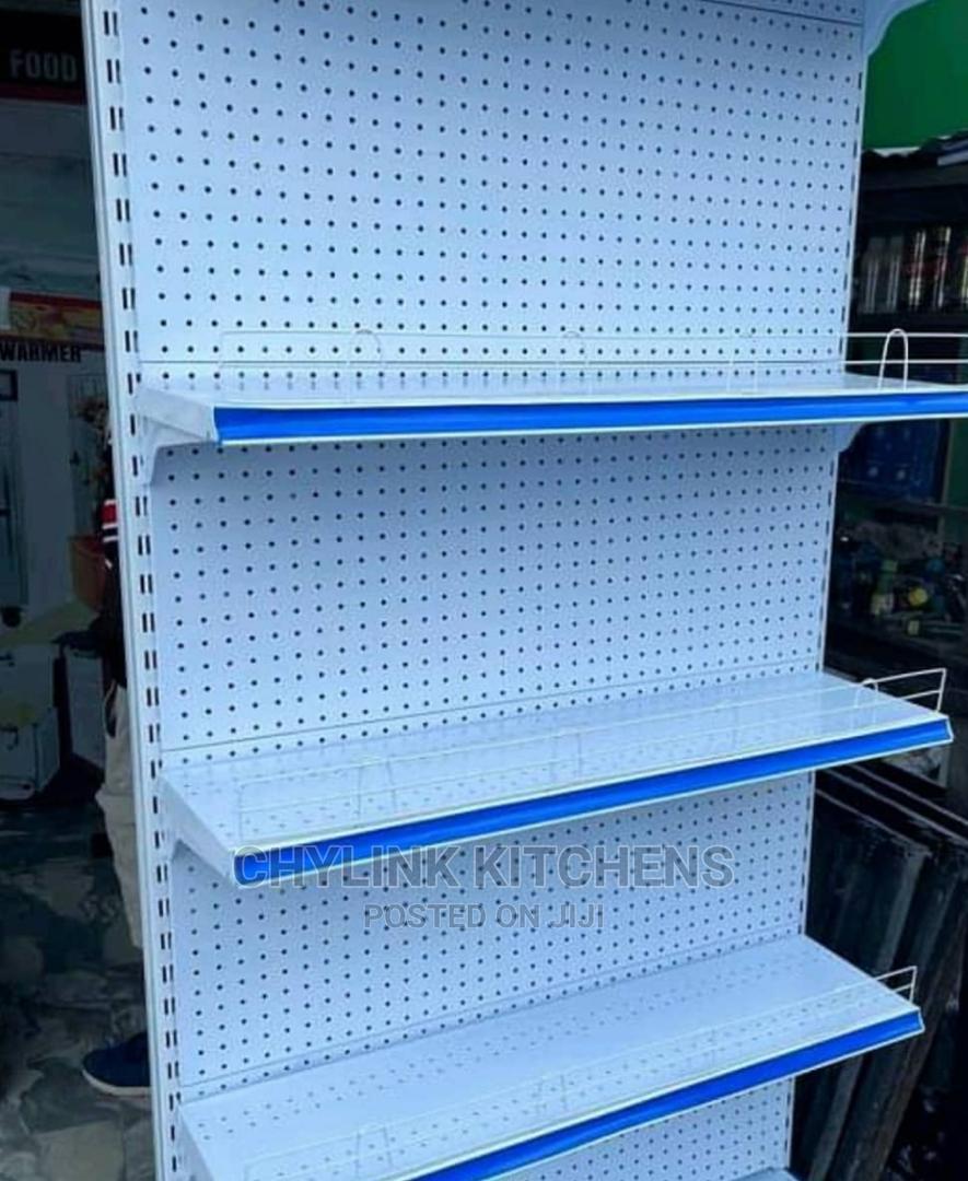 Single Side Supermarket Shelfs