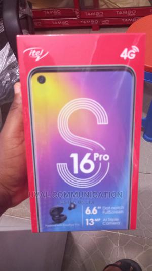 New Itel S16 Pro 32 GB Black | Mobile Phones for sale in Lagos State, Ikeja