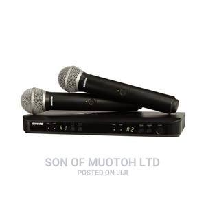 Shure BLX288/PG58 Wireless Dual Vocal System With Two PG58   Audio & Music Equipment for sale in Lagos State, Ojo