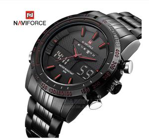 NAVIFORCE Men Fashion Sport Watches Chronograph | Watches for sale in Rivers State, Port-Harcourt