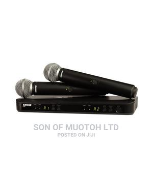 Shure BLX288/SM58 Wireless Dual Vocal System With Two SM58   Audio & Music Equipment for sale in Lagos State, Ojo