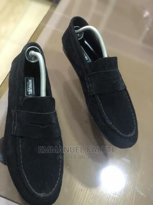 Black Suede Penny Loafers | Shoes for sale in Lagos State, Mushin