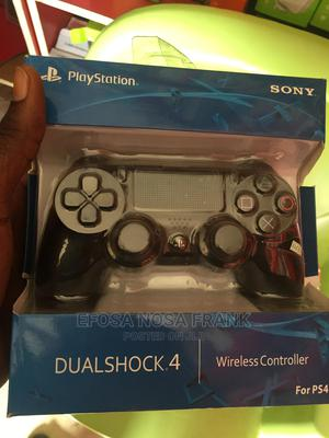 Original Ps4 Wireless Pad   Video Game Consoles for sale in Edo State, Benin City
