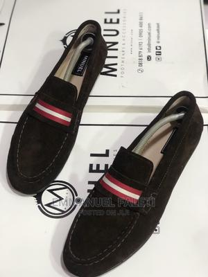 Coffee Brown Suede Loafers. | Shoes for sale in Lagos State, Mushin