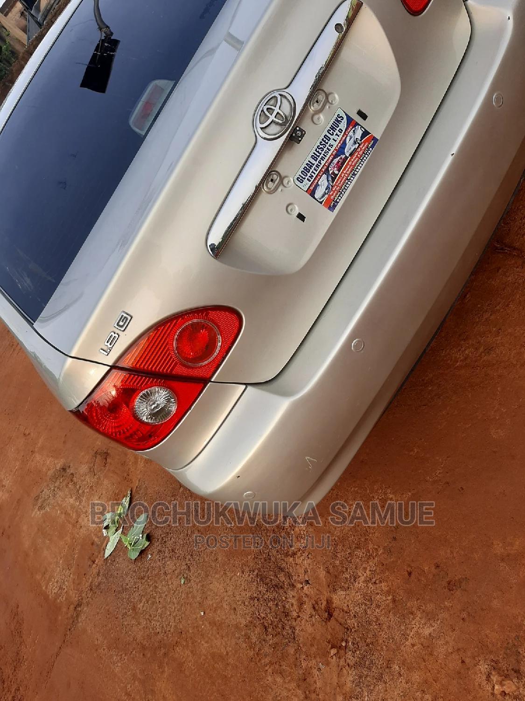 Archive: Toyota Corolla 2005 Gold
