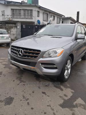 Mercedes-Benz M Class 2012 ML 350 4Matic Gray   Cars for sale in Lagos State, Surulere