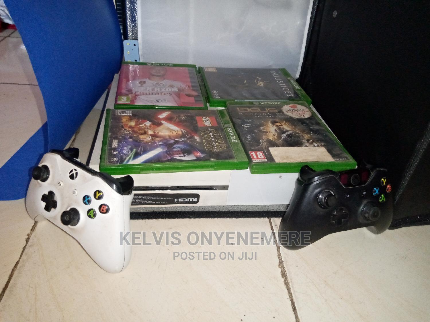 Archive: Xbox One Console With 4 Games And 2 Controllers