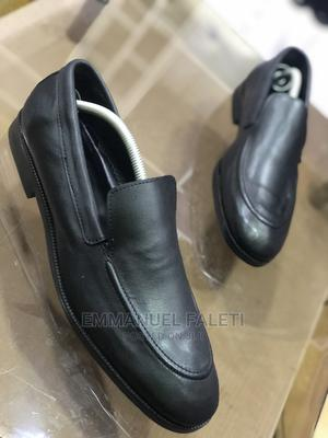 Matured Black Plain Office Shoe | Shoes for sale in Lagos State, Mushin