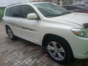 Toyota Highlander 2009 4x4 White | Cars for sale in Lagos State, Ojodu