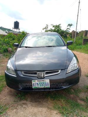 Honda Accord 2005 Sedan LX V6 Automatic Blue | Cars for sale in Ogun State, Abeokuta South