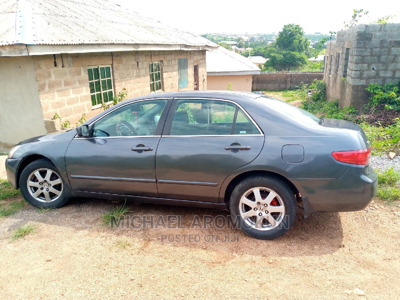 Honda Accord 2005 Sedan LX V6 Automatic Blue   Cars for sale in Abeokuta South, Ogun State, Nigeria
