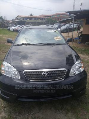 Toyota Corolla 2005 LE Black | Cars for sale in Lagos State, Alimosho