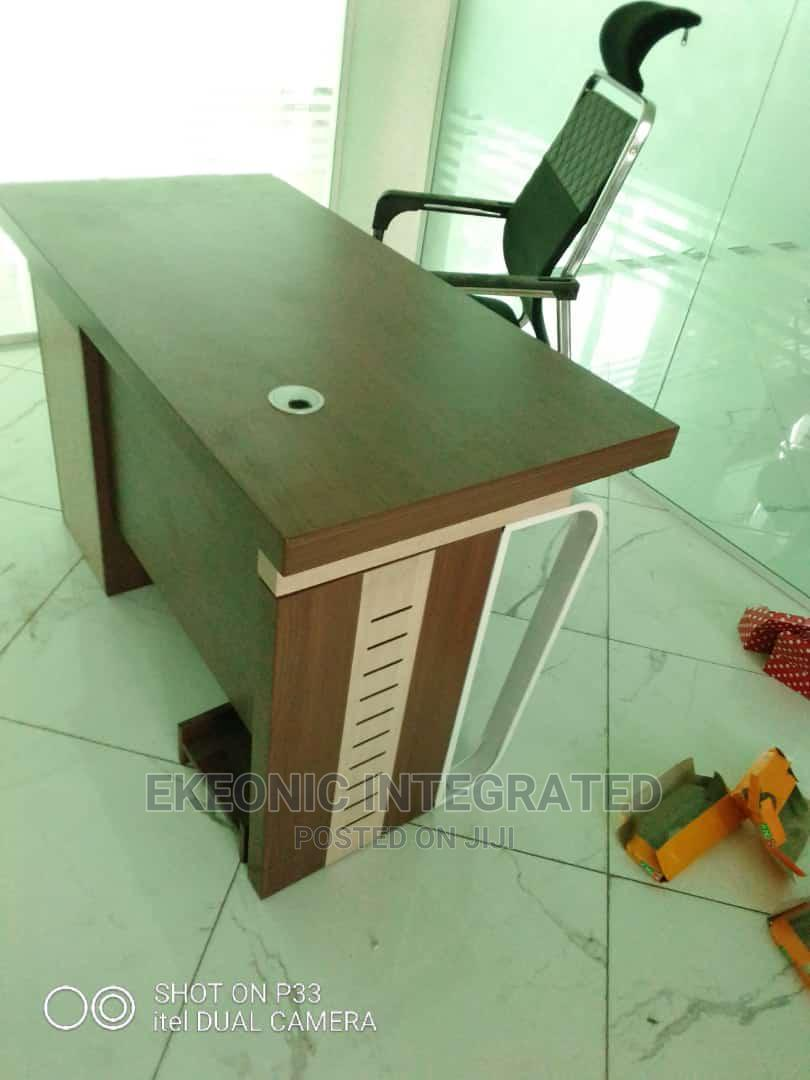 Office Table and Office Chair