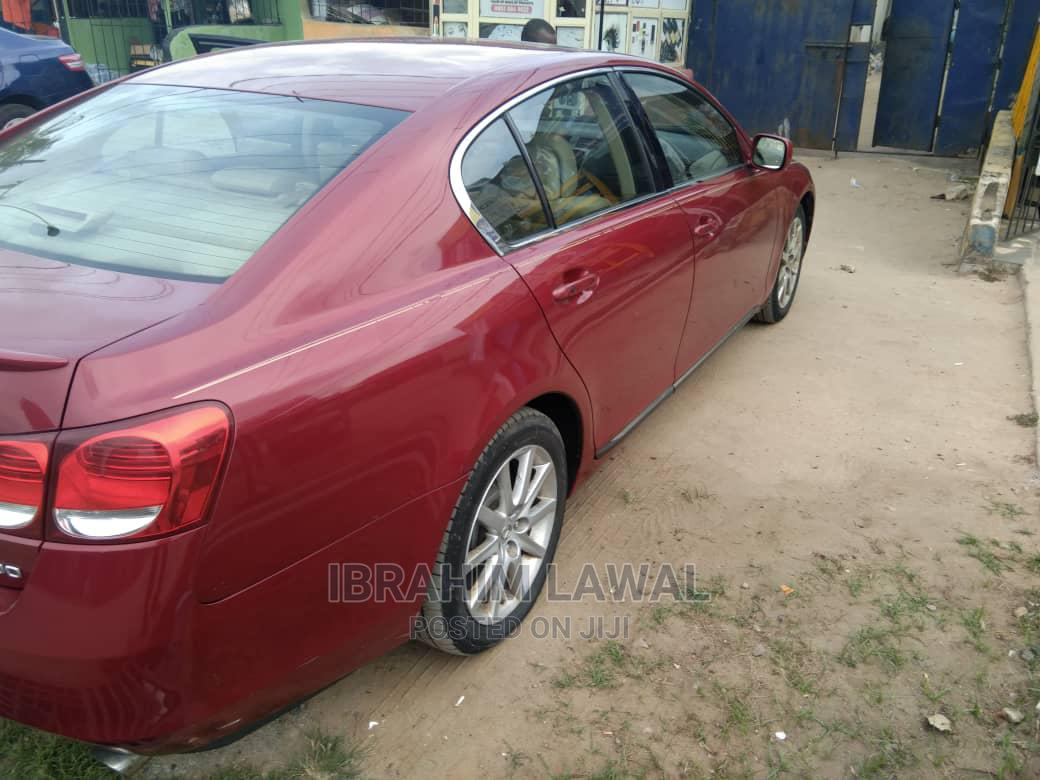 Archive: Lexus GS 2006 300 AWD Red