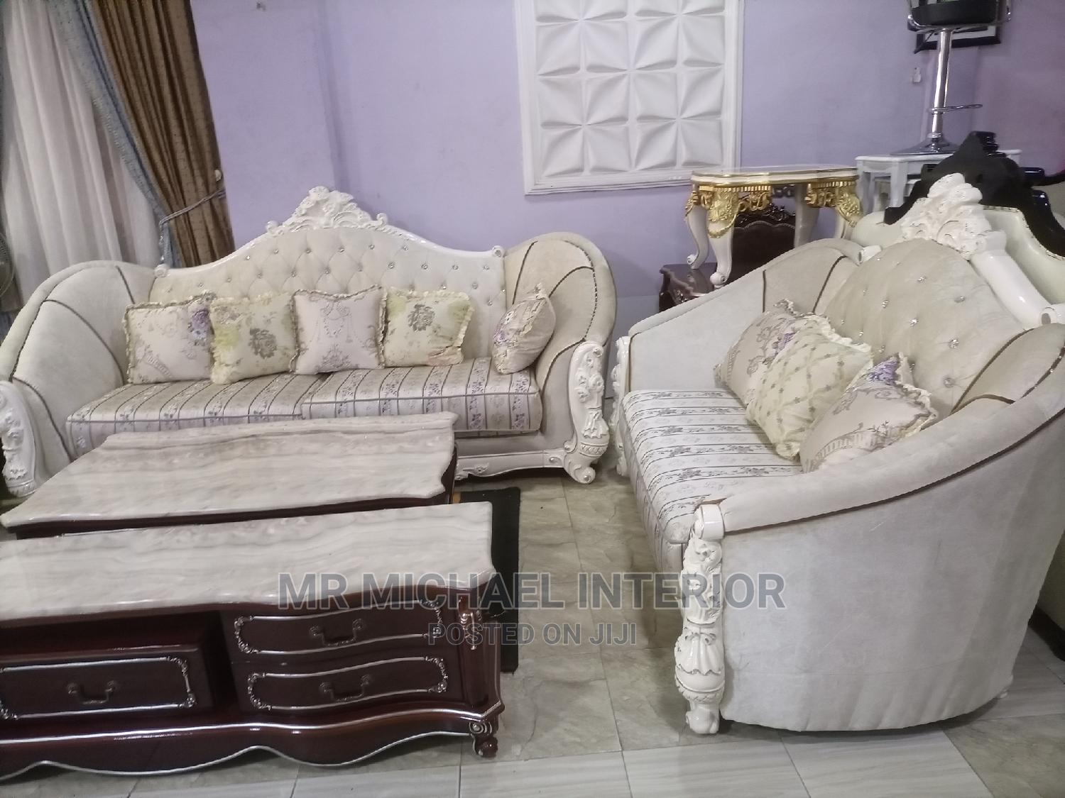 7seater Imported Turkish Royal Sofa Chair Complete Set