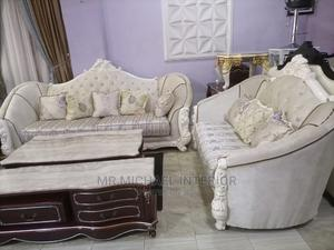 7seater Imported Turkish Royal Sofa Chair Complete Set | Furniture for sale in Lagos State, Ajah