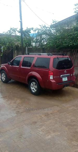 Nissan Pathfinder 2006 LE 4x4 Red | Cars for sale in Lagos State, Ojodu